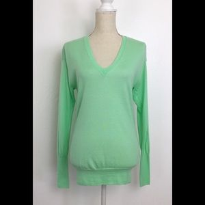 J Crew Collection Italian Cashmere V-Neck Sweater